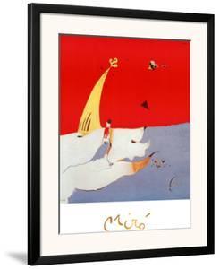 Paysage, c.1925 by Joan Miro