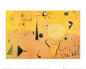 Paysage Catalan (Le Chasseur), c.1923 by Joan Miro