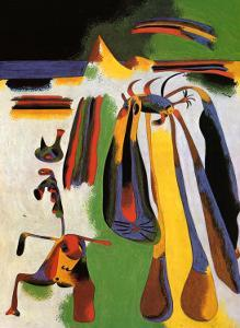Paysan Catalan au Repos, c.1936 by Joan Miro