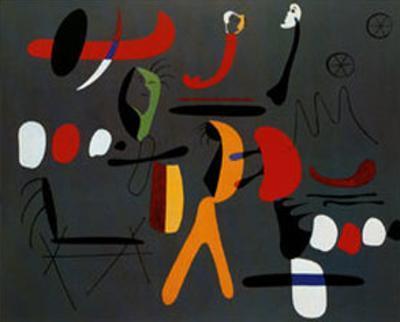 Peinture Collage by Joan Miró