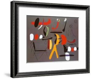 Peinture Collage by Joan Miro