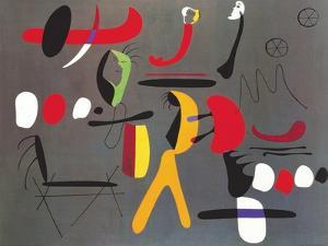 Peinture Collage by Joan Miro