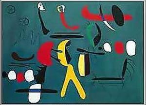 Peinture De La Facon Collage by Joan Miro