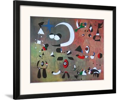 People in the Night, 1949 by Joan Miró