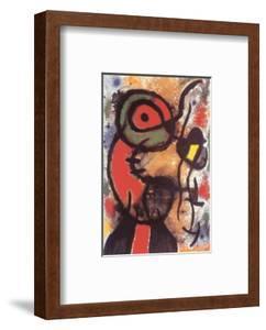 Personnage et Oiseau, c.1948 by Joan Miro
