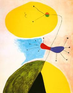 Portrait by Joan Miro