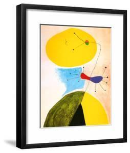 Portrait by Joan Miró
