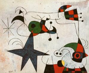 Rythme Passage du Serpent by Joan Miro
