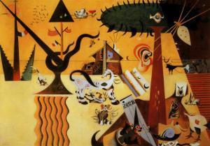 Terre Labouree, c.1923 by Joan Miro