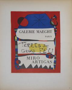 Terres de Grand Feu by Joan Miro