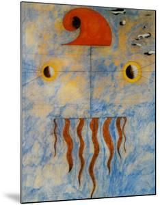 Tete de Paysan Catalan, c.1925 by Joan Miro