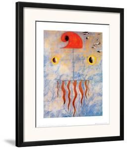 Tete de Paysan Catalan, c.1925 by Joan Miró