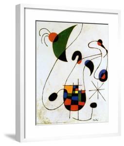 The Melancholic Singer by Joan Miró