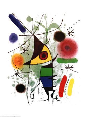 The Singer by Joan Miró