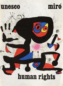 UNESCO Human Rights by Joan Miro