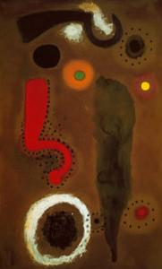 Vogel im Raum by Joan Miro