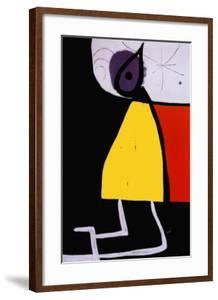 Woman in the Night by Joan Miro