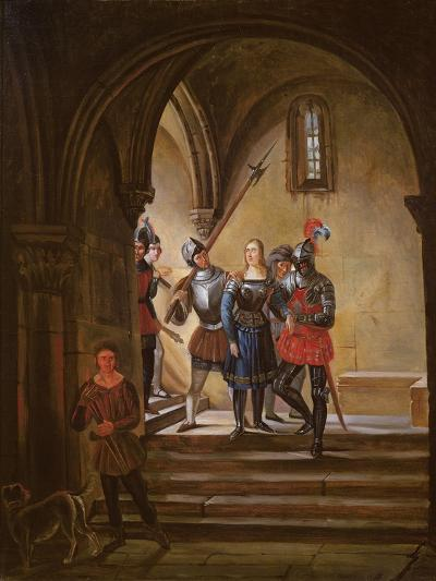 Joan of Arc (1412-31) Led to Prison--Giclee Print