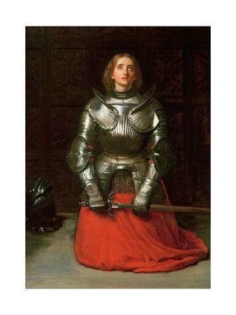 Joan of Arc, 1865-John Everett Millais-Giclee Print