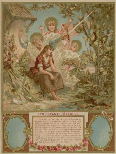 Joan of Arc as a Child--Giclee Print