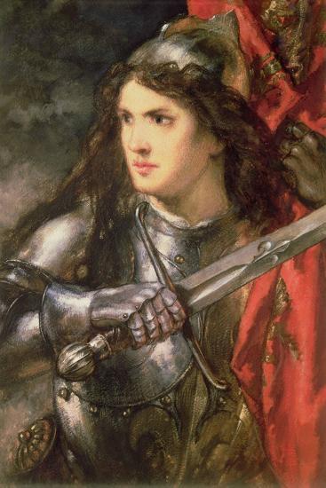 Joan of Arc (C.1412-31)-Sir John Gilbert-Giclee Print
