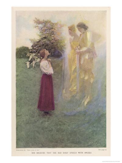 Joan of Arc French Heroine-Howard Pyle-Giclee Print