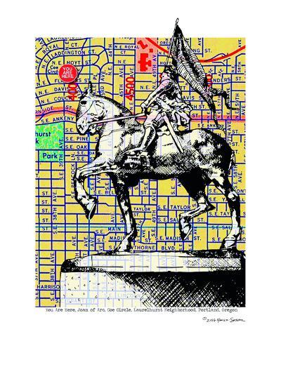 Joan-Of-Arc Portland--Art Print