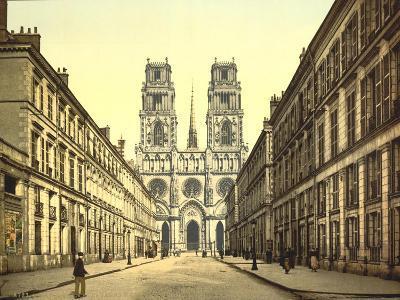 Joan of Arc Street, Orléans, France, C.1890-C.1900--Giclee Print
