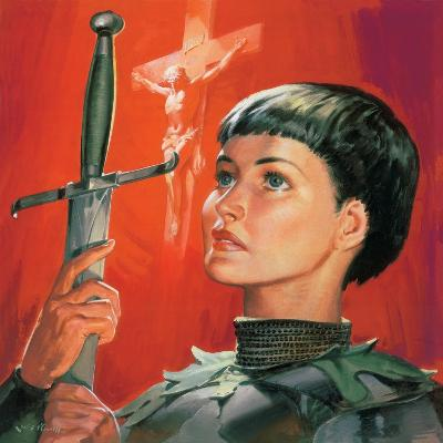 Joan of Arc-McConnell-Giclee Print