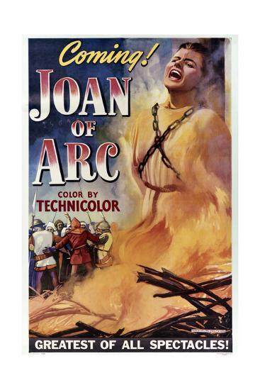 Joan of Arc--Art Print