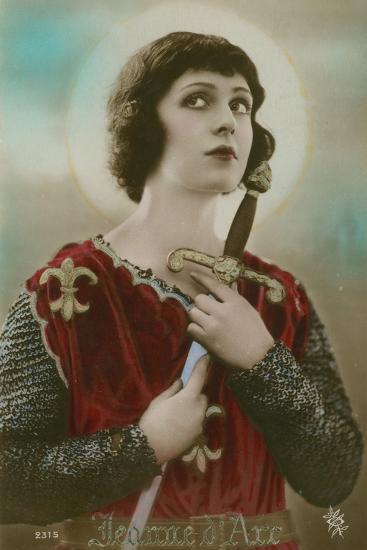 Joan of Arc--Photographic Print