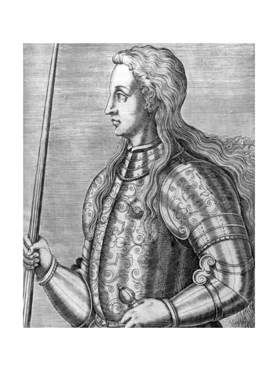 Joan of Arc--Giclee Print