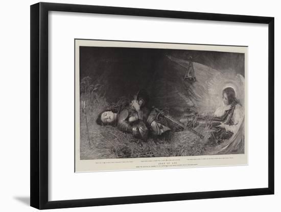 Joan of Arc-George William Joy-Framed Premium Giclee Print
