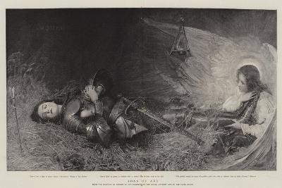 Joan of Arc-George William Joy-Giclee Print