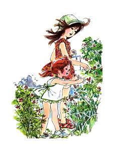 Red Blackberries are Green - Jack & Jill by Joan Orfe
