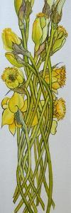 Daffodils,2008, by Joan Thewsey
