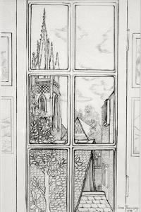 Marlow Church, 2015 by Joan Thewsey