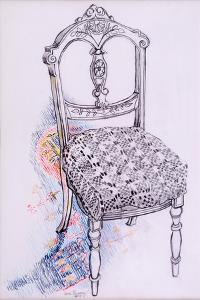 Portrait of My Chair, 2000 by Joan Thewsey