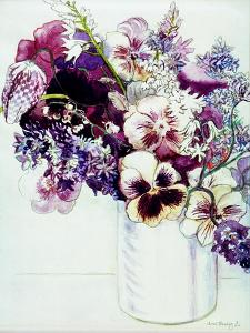 Spring Flowers with Fritillaria, 2005 by Joan Thewsey