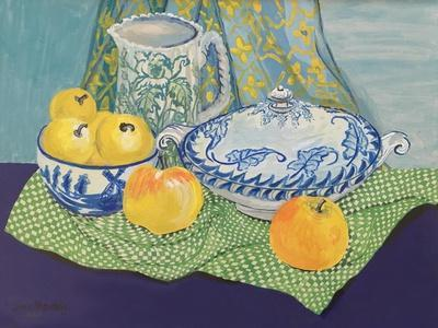 Still life with Tureen and Apples,1999,