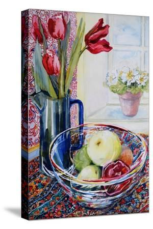 Tulips in a Jug,With a Glass Bowl 2003