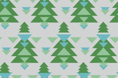 Aztec Trees by Joanne Paynter Design