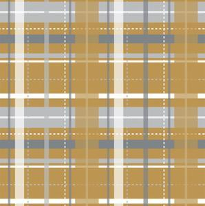 Holiday Yellow Plaid by Joanne Paynter Design