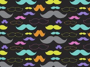 Mixed Mustaches by Joanne Paynter Design