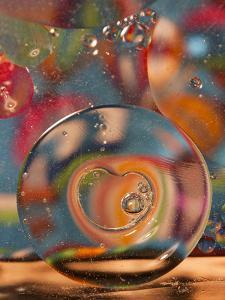 Abstract Bubbles and Colors, Savannah, Georgia, USA by Joanne Wells