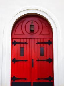 Church Door, Darien, Georgia, USA by Joanne Wells