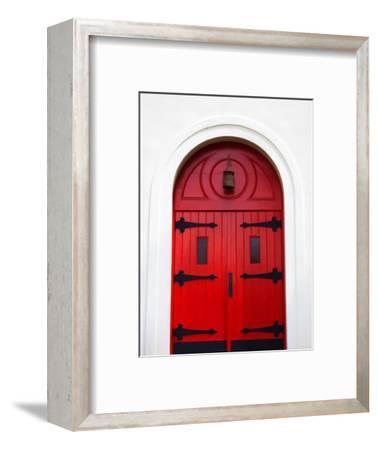 Church Door, Darien, Georgia, USA