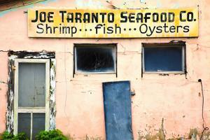 Deserted Old Oyster House, Apalachicola, Florida, USA by Joanne Wells