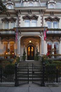 Georgia, Savannah, Hamilton Turner Inn in the Historic District by Joanne Wells