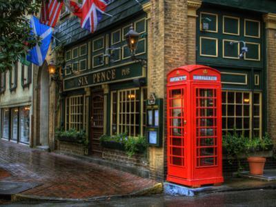 Telephone Booth, Savannah, Georgia, USA